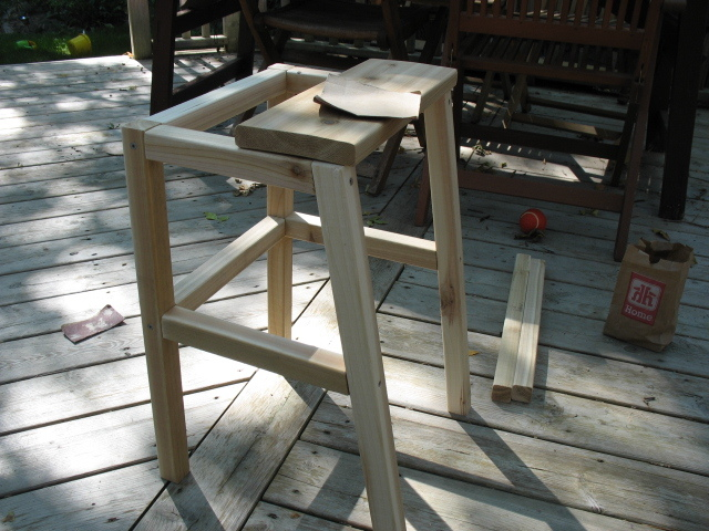 how to make a chair higher