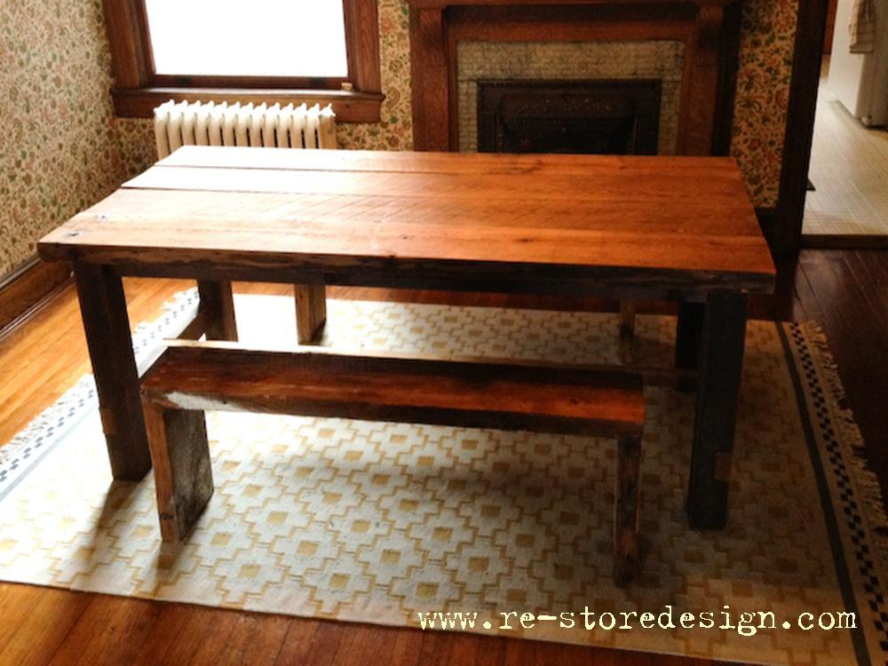 - Ana White Reclaimed Wood Farm Table - DIY Projects