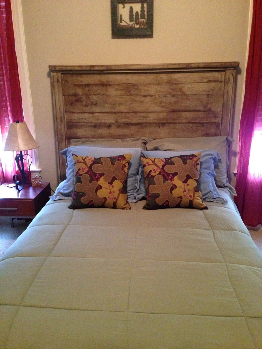 Ana White Reclaimed Wood Full Size Headboard Diy Projects