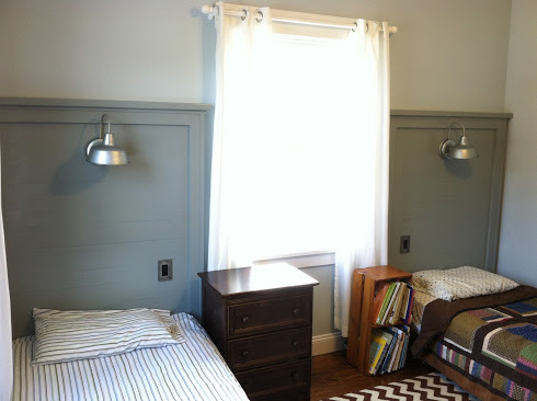 Ana White Twin Headboards With Barnlight From Reclaimed