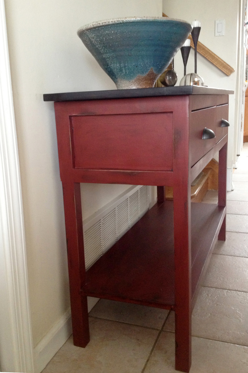 Red Console Table 3154823696_1363031798