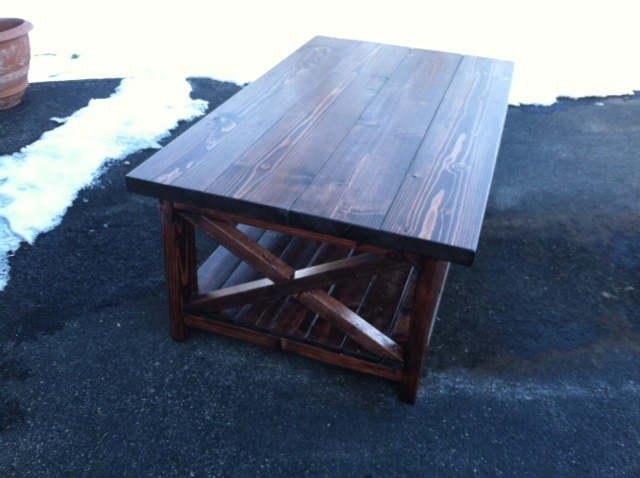 Ana White | x frame coffee table - DIY Projects
