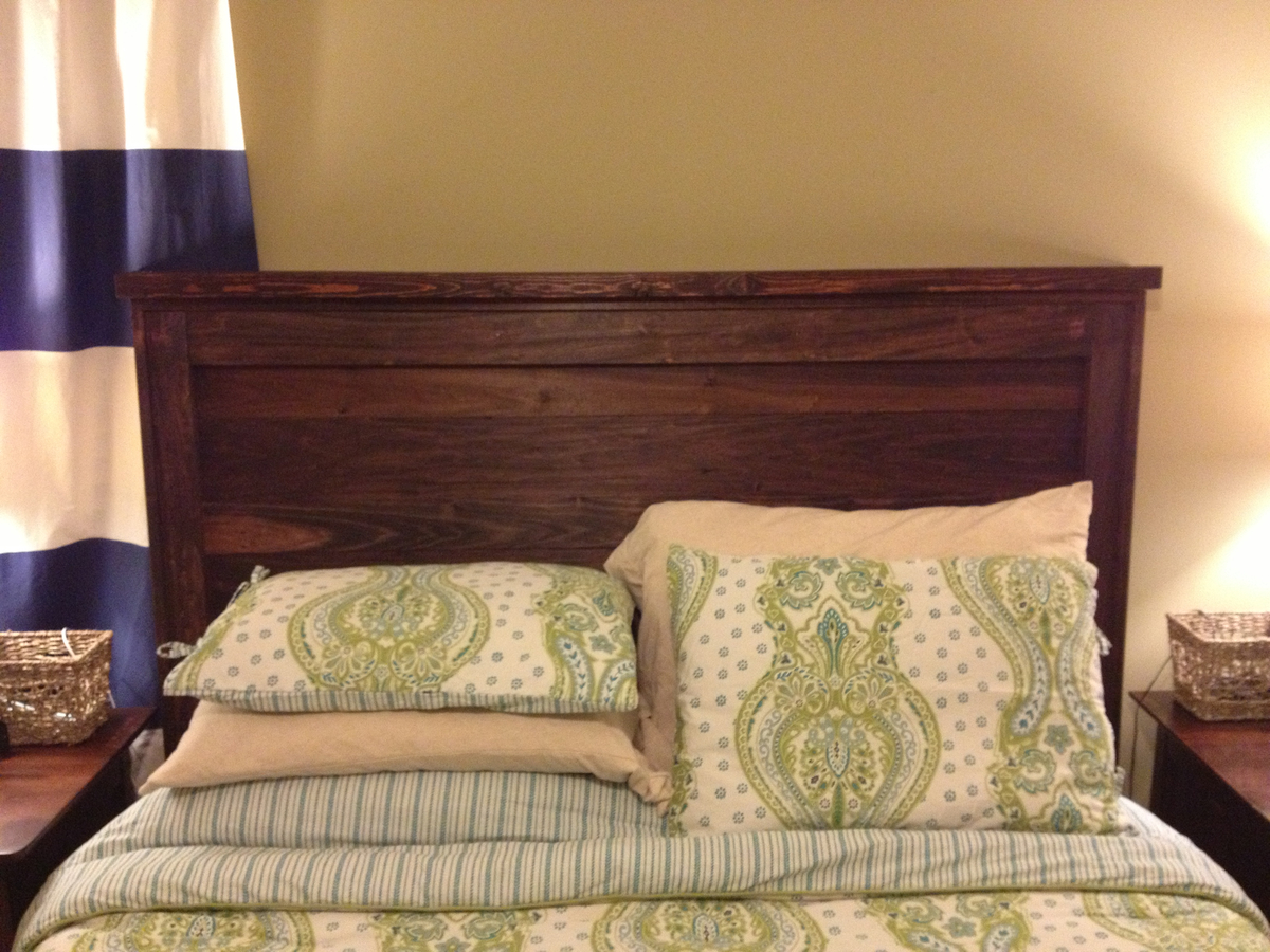 Ana white diy queen headboard diy projects for Queen headboard ideas