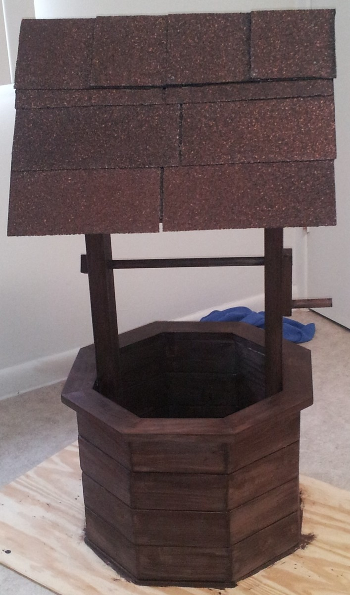 Ana White Wishing Well Planter Diy Projects