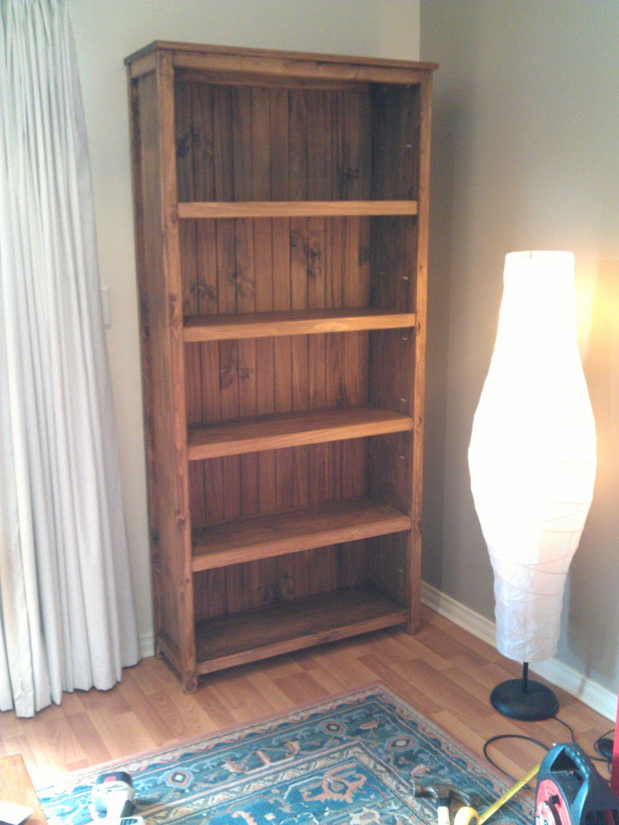Ana White Kentwood Bookcase Upsized Diy Projects