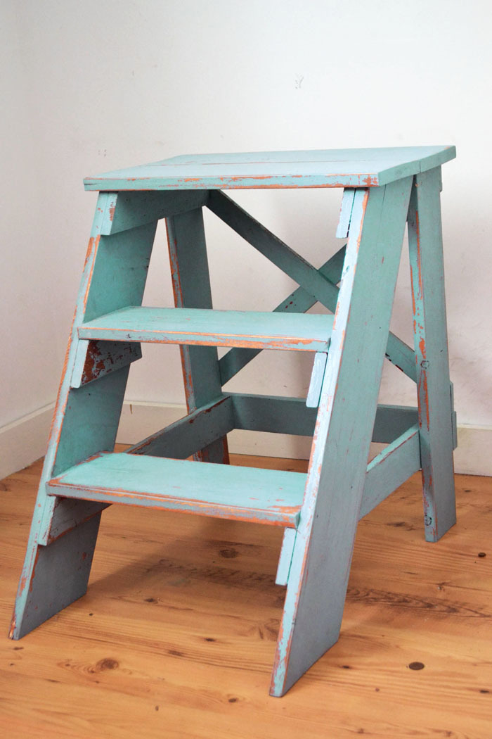 Terrific Vintage X Back Step Stool End Table Ana White Gamerscity Chair Design For Home Gamerscityorg