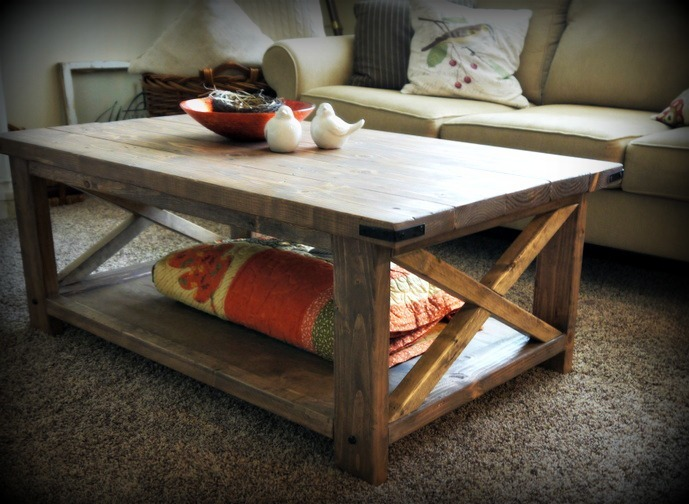 white x white rustic coffee table. http pinterest com pin
