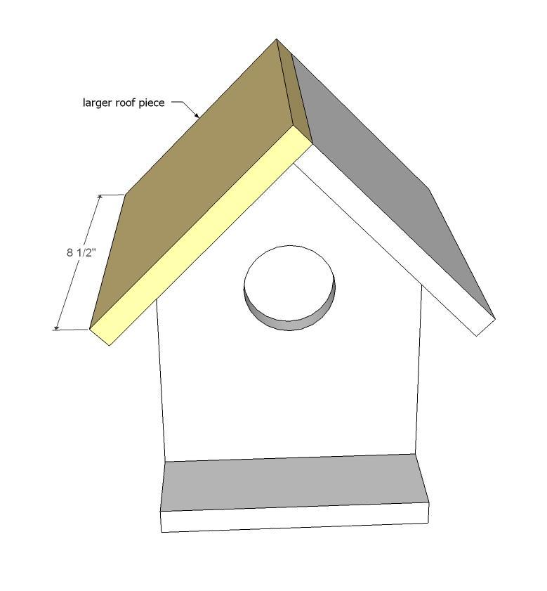 ana white | kids kit project: $2 birdhouse - diy projects