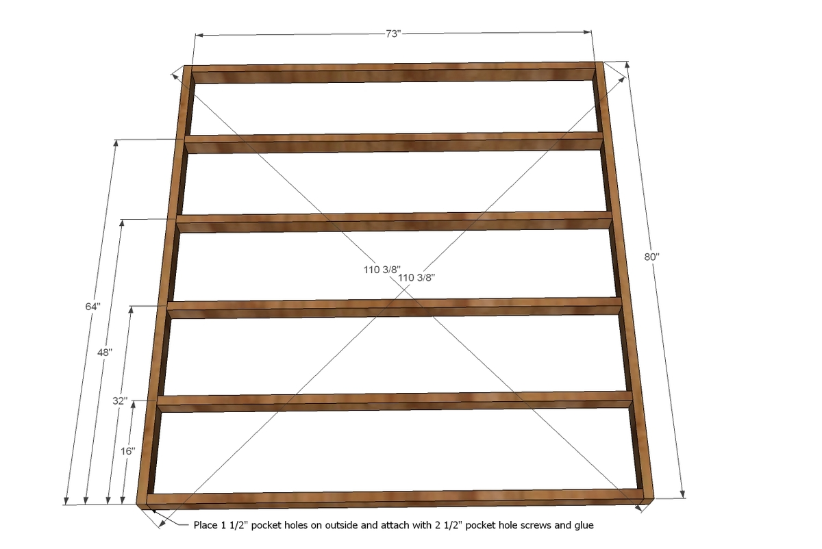 Diy king bed frame plans - Diy King Bed Frame Plans