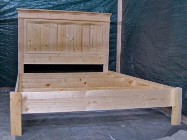 King Size Fancy Farmhouse Bed Ana White