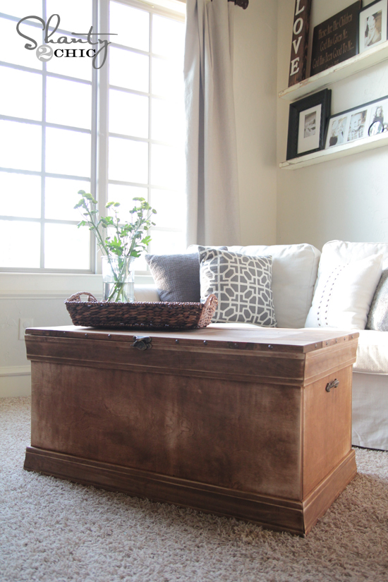 My Friend Whitney At Shanty2Chic Wrote Me About Taking On A Vintage Styel  Chest Or Trunk Build. I Canu0027t Believe We Havenu0027t Posted One Already.