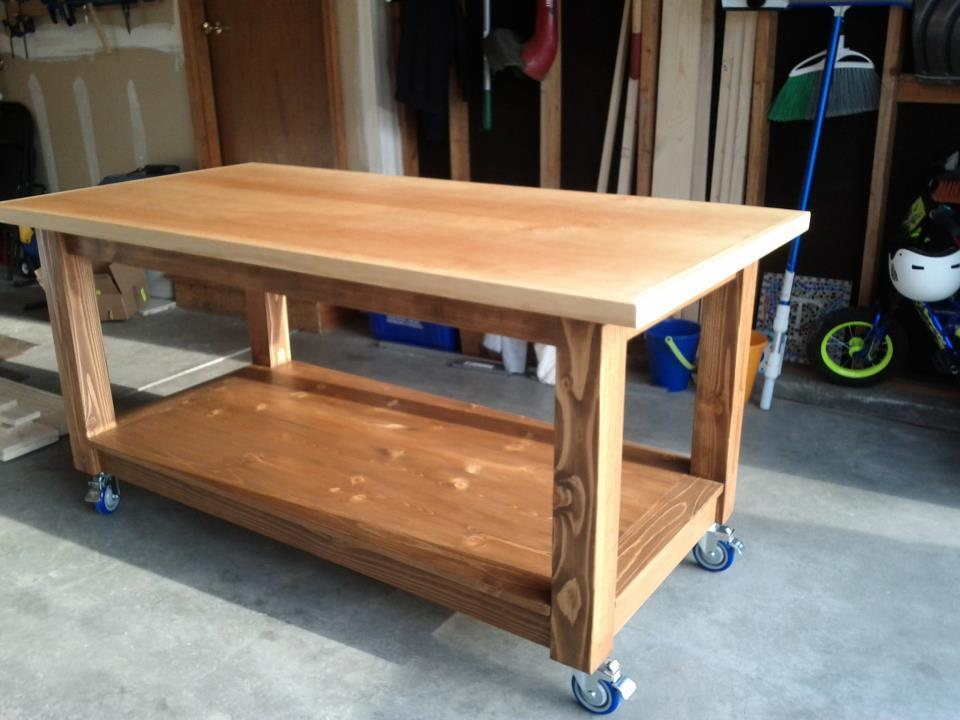 Free Workbench Plans Do It Yourself | myideasbedroom.com