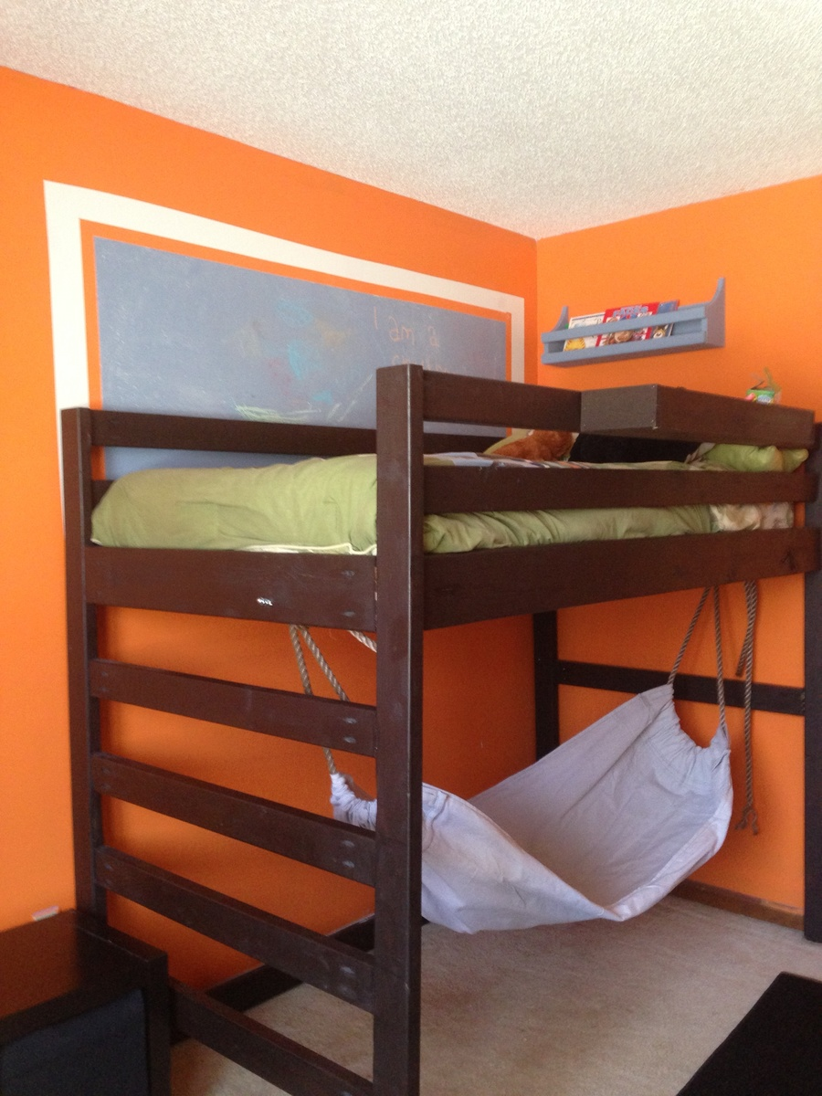 Junior Height Loft Bed Modified