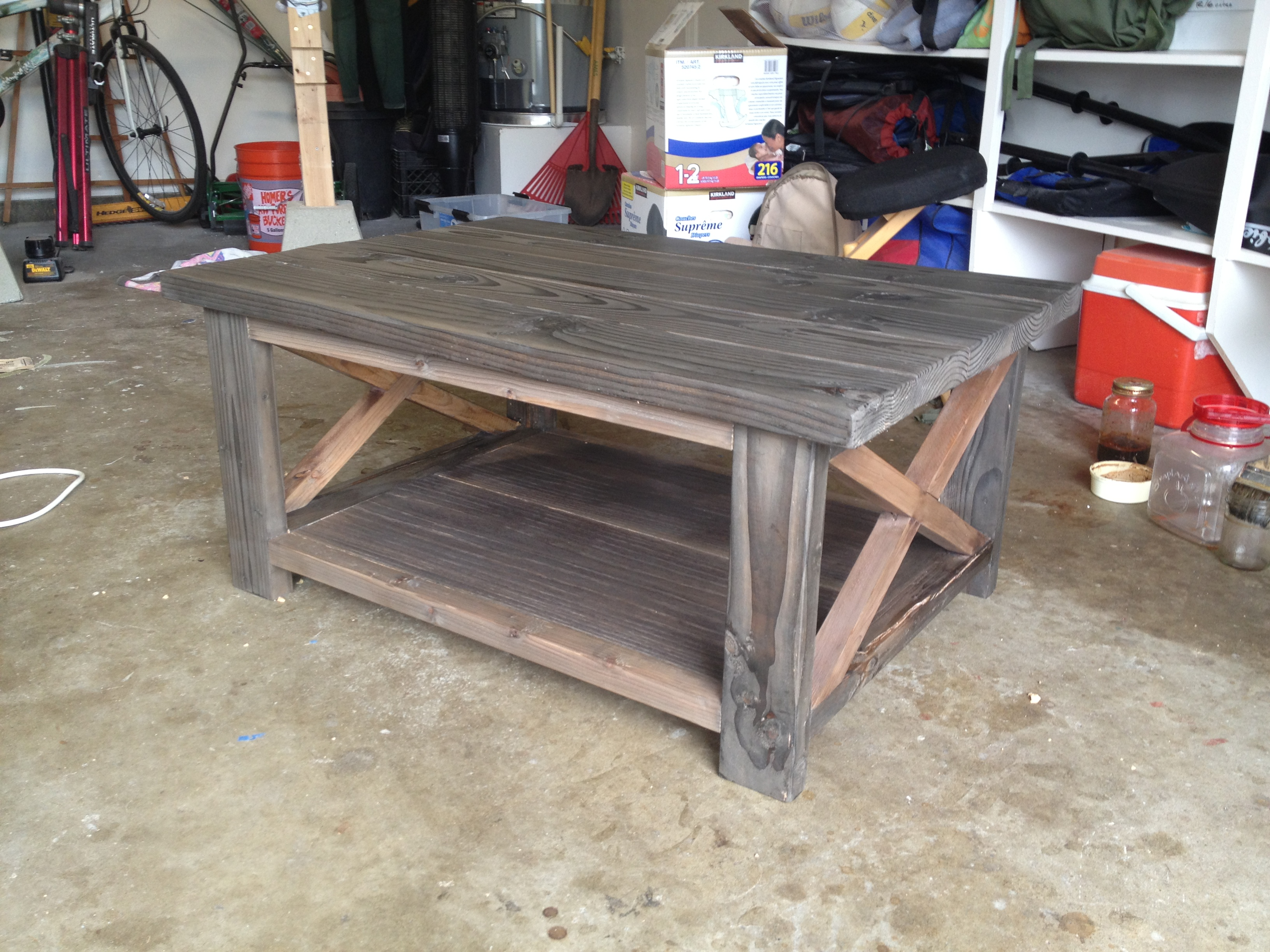 Rustic Coffee Table Do It Yourself Home Projects From Ana White