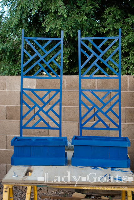 Ana White Woven Back Trellises Diy Projects