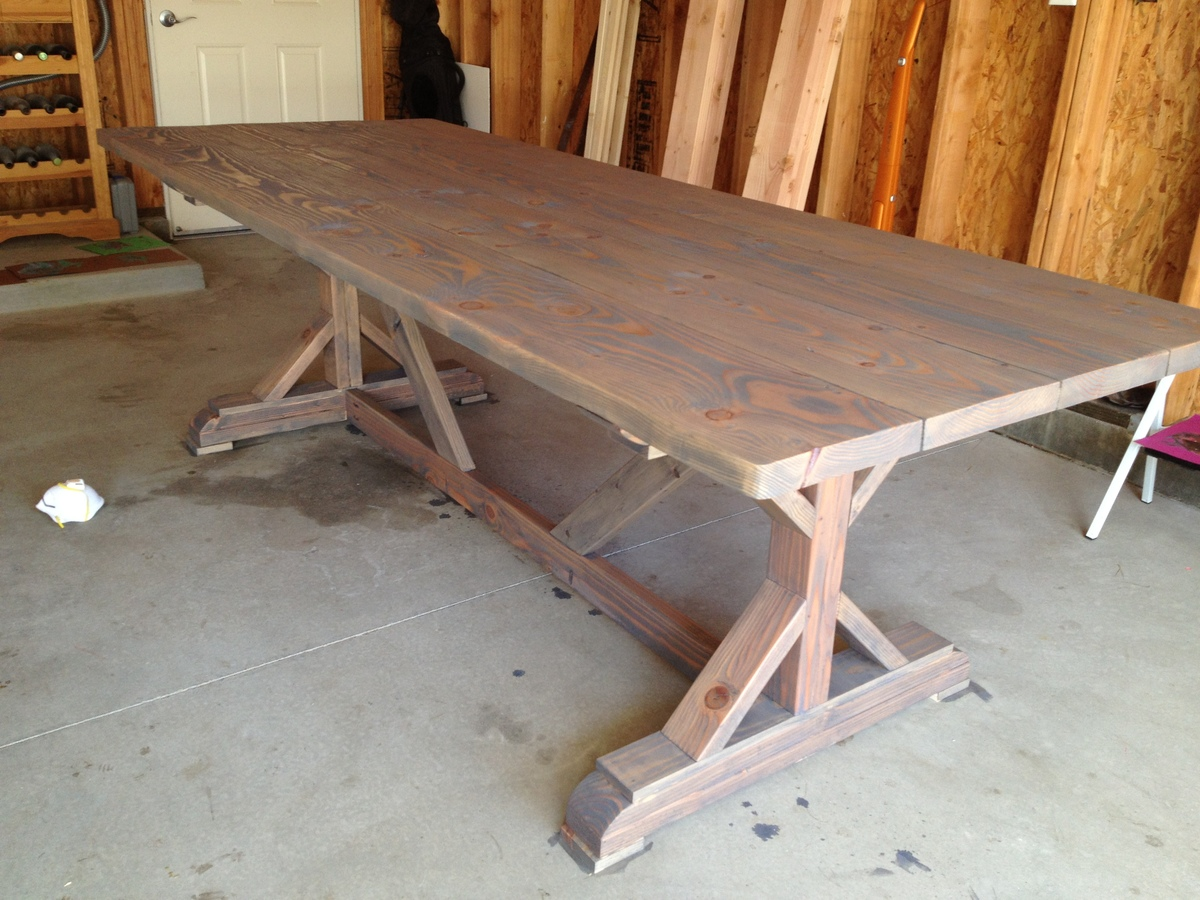 inspired fancy x farmhouse table benches part 1 diy projects