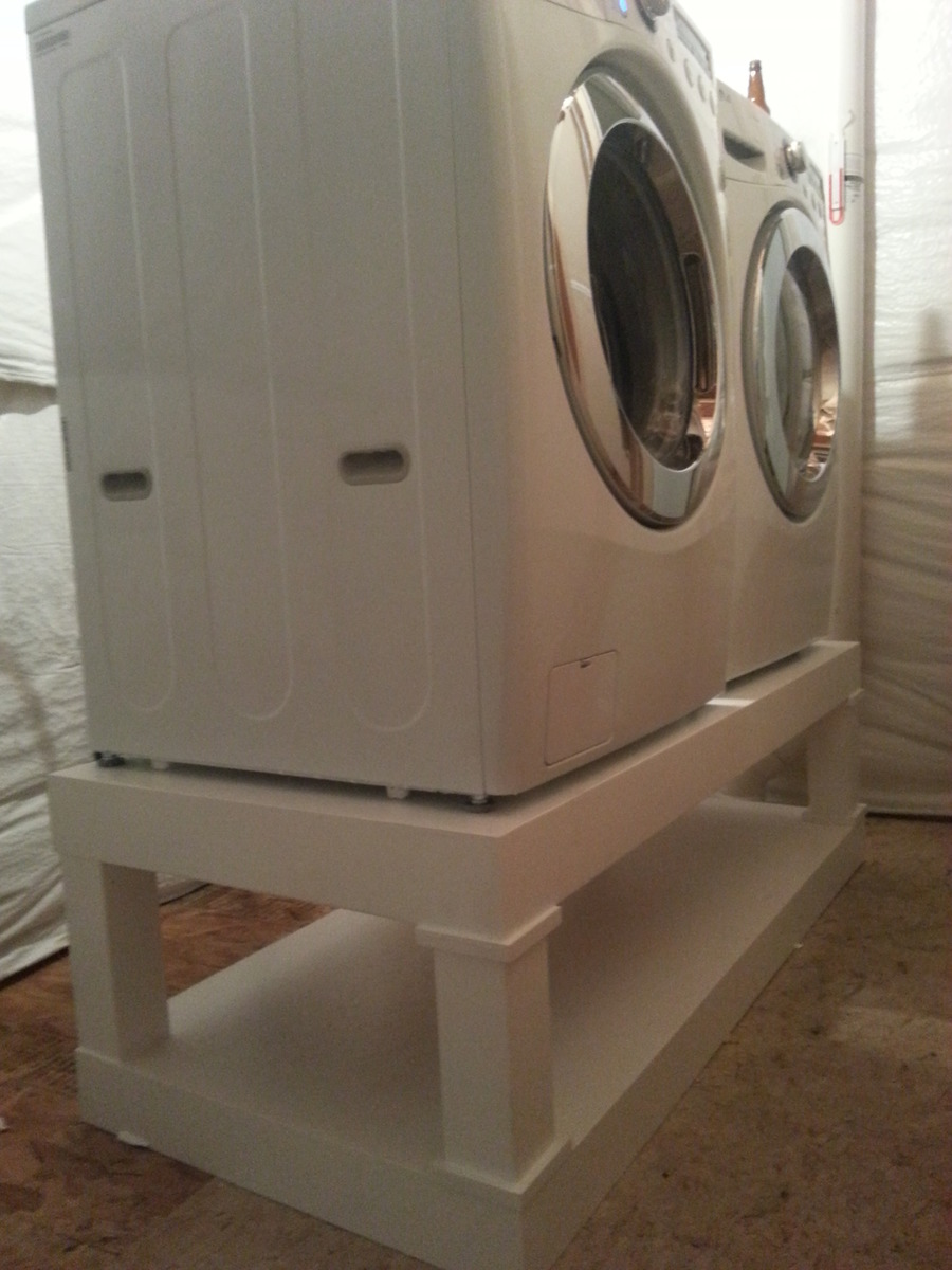 Ana white washer and dryer pedestal diy projects washer and dryer pedestal solutioingenieria Gallery