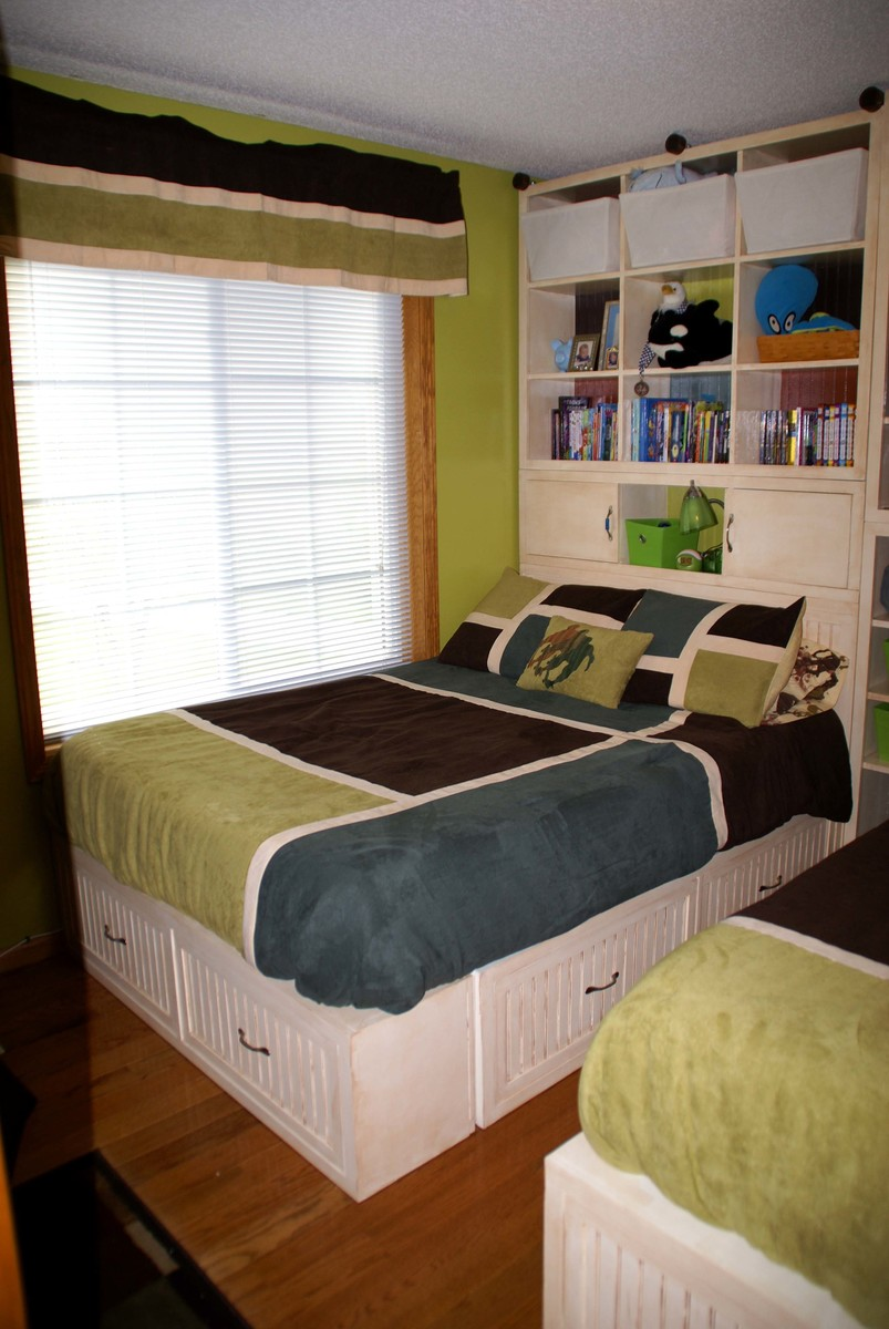 Full Size Storage Beds   Extra Tall