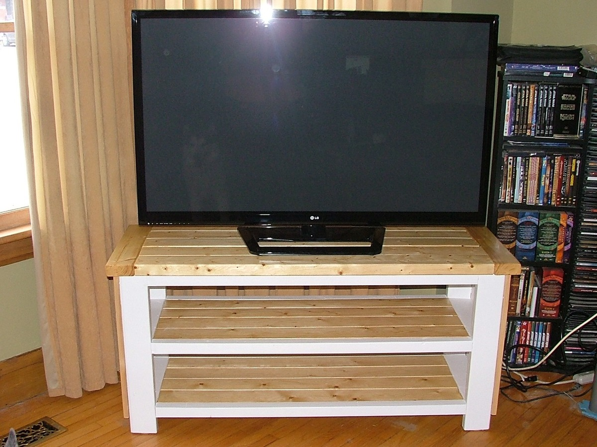 ana white tv stand diy projects