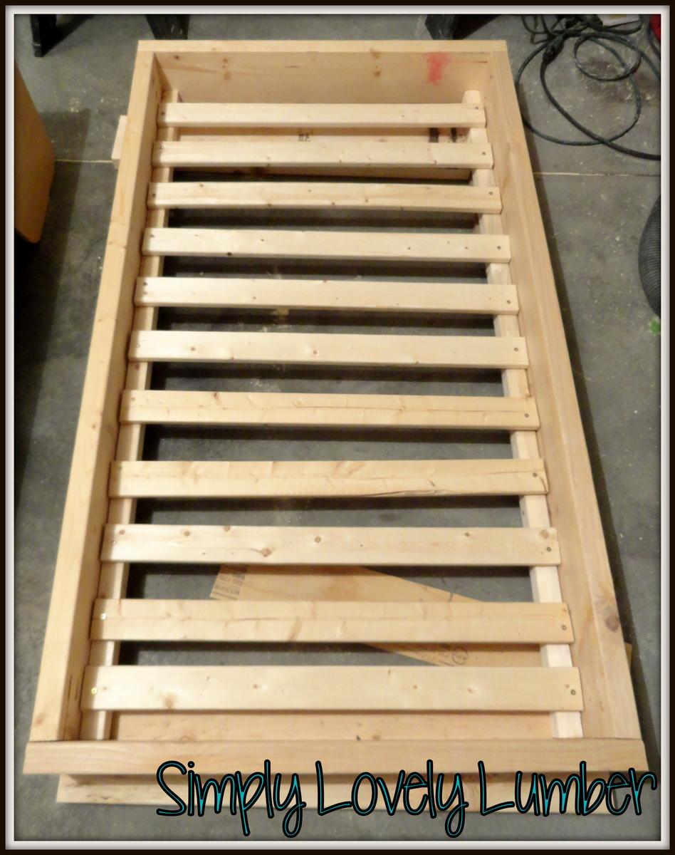 ana white  platform toddler bed  diy projects - platform toddler bed