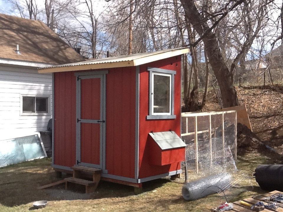 Ana White Chicken Shed Diy Projects