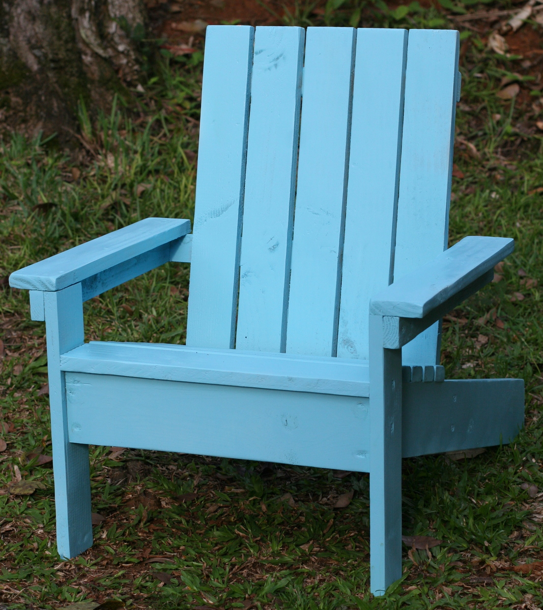 Ana White Kids Adirondack Chair Diy Projects