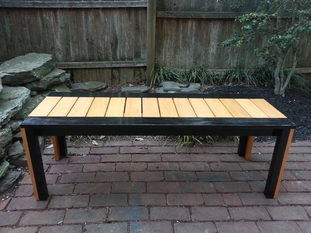My First Ana Project (Simple Outdoor Bench