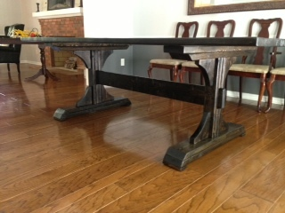 Superior Double Pedestal Table (Modified From Triple Pedestal And Farmhouse Table  Plans)