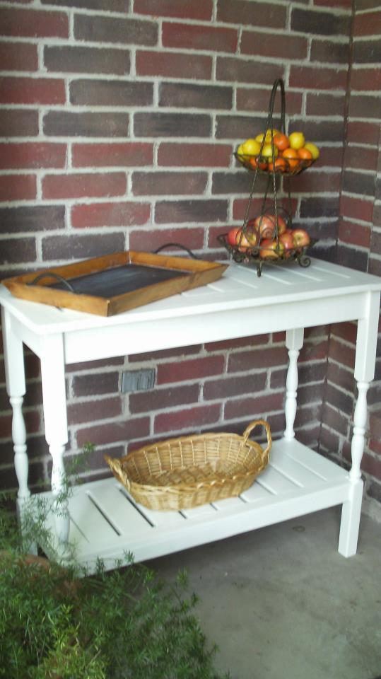 Ana White Outdoor Console Table Diy Projects
