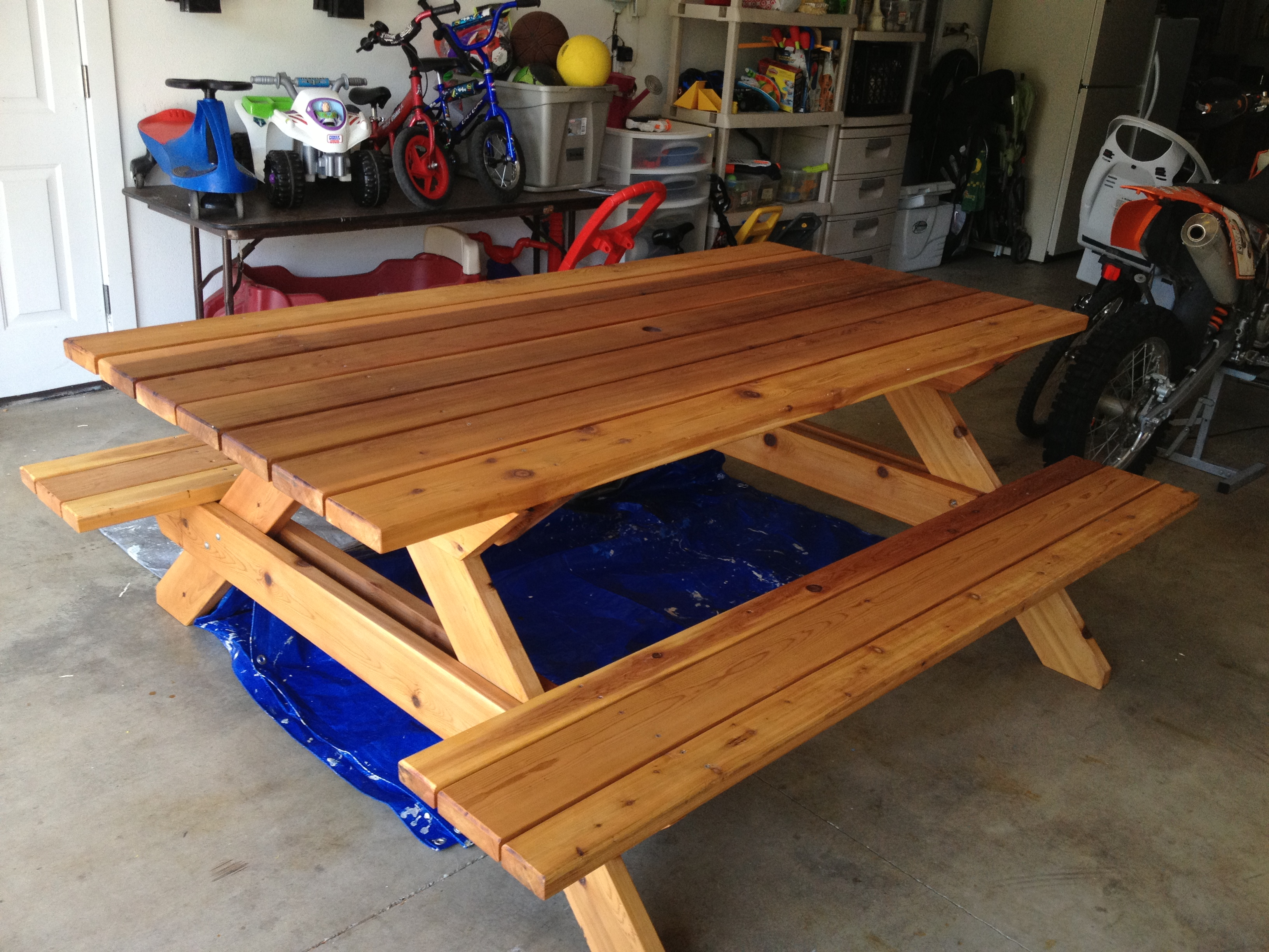 Ana White Picnic Table Diy Projects