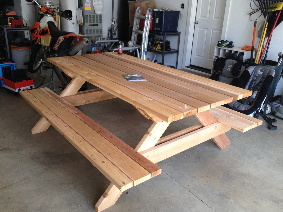 Picnic Bench Ideas Part - 35: Ana White