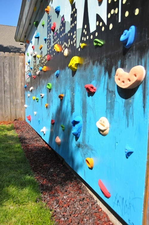 Diy Backyard Climbing Gym