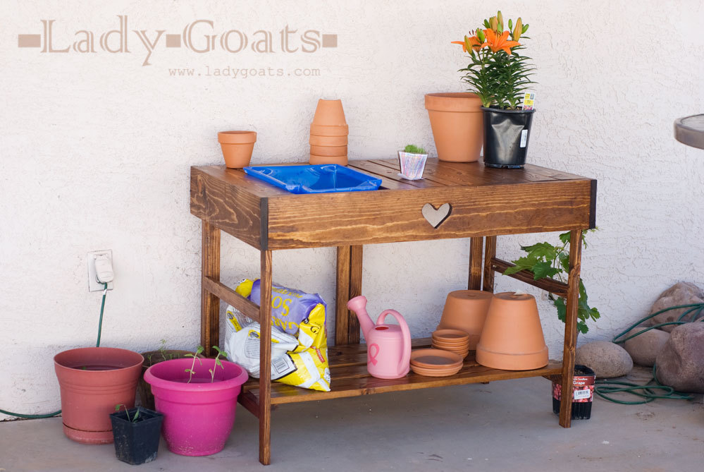Ana White | Collapsible Potting Table - DIY Projects