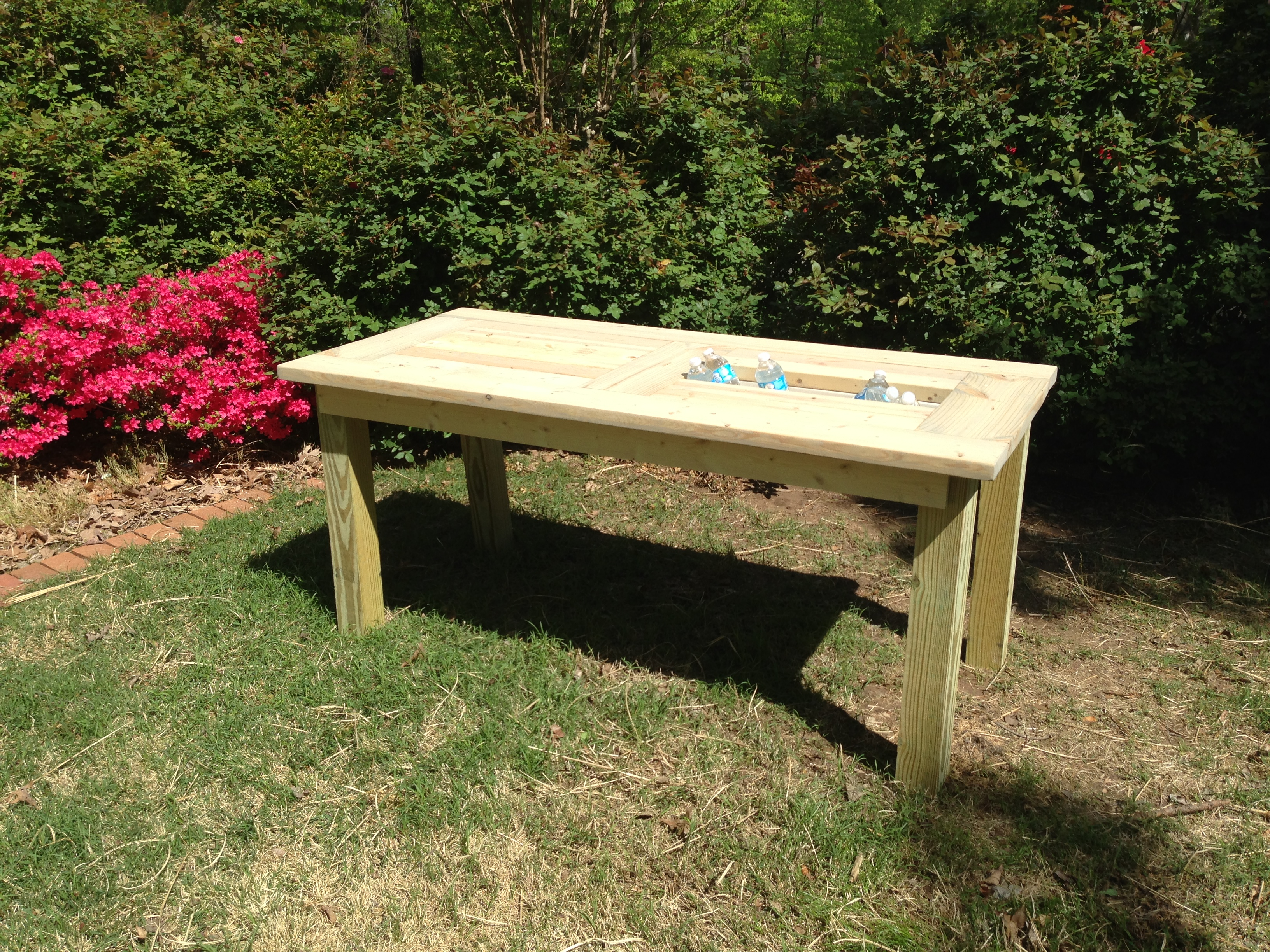 Outdoor Dining Table Ana White