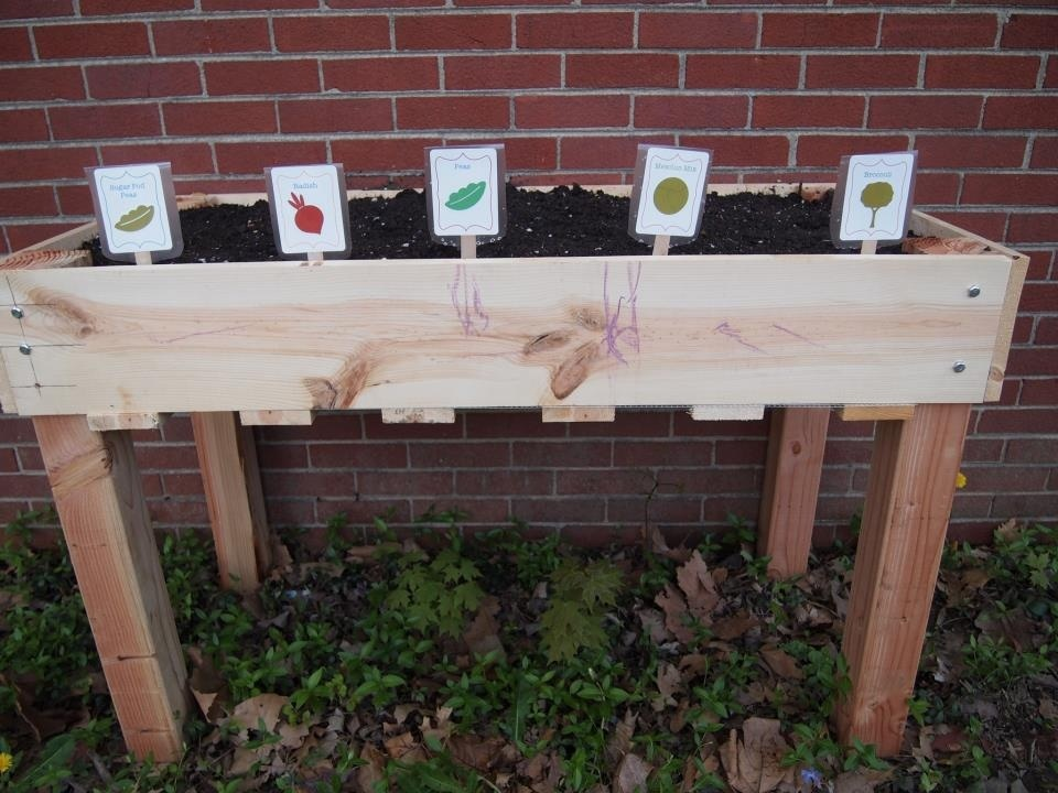 Counter Height Garden Boxes : Ana White Counter height planter - DIY Projects