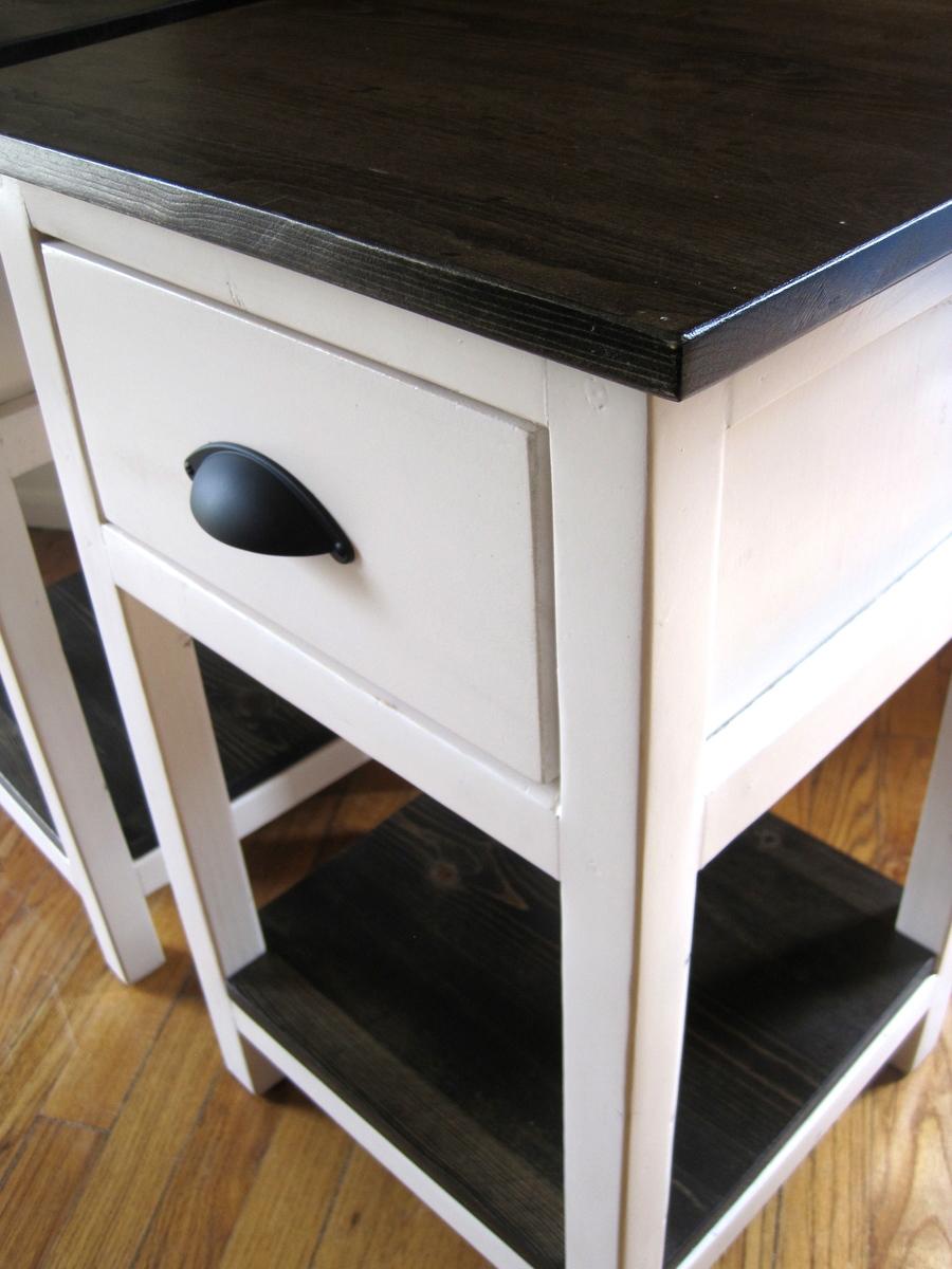 Ana White | Mini Farmhouse Bedside Table - DIY Projects