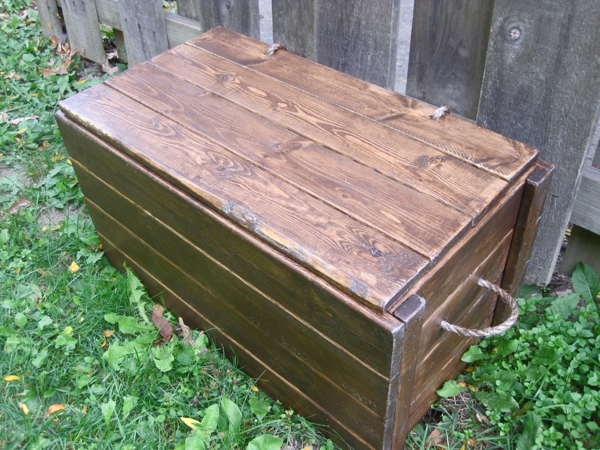 how to build a large wooden toy box | Quick Woodworking ...