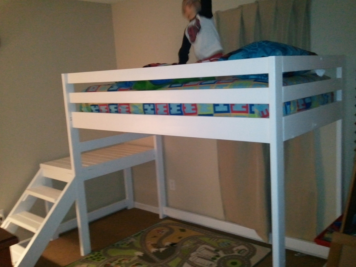 Do It Yourself Junior Loft Bed Patterns For Wooden Baby Toys