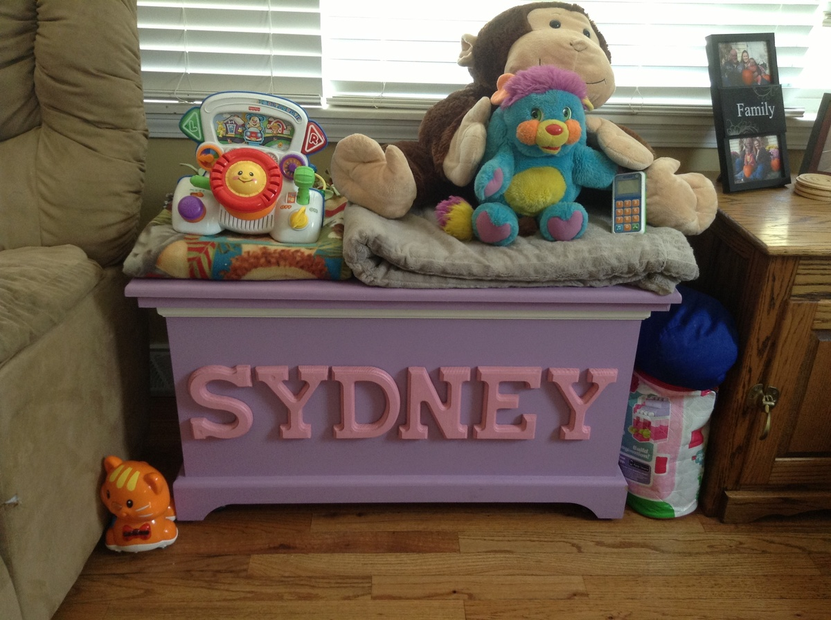Ana White Toybox With Lid Diy Projects