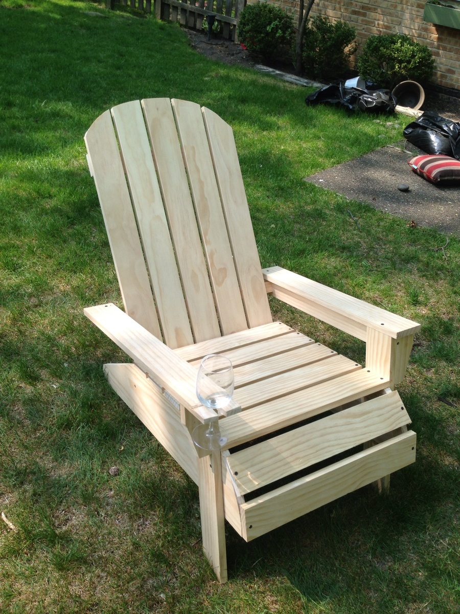 Ana White Adirondack Chair Diy Projects