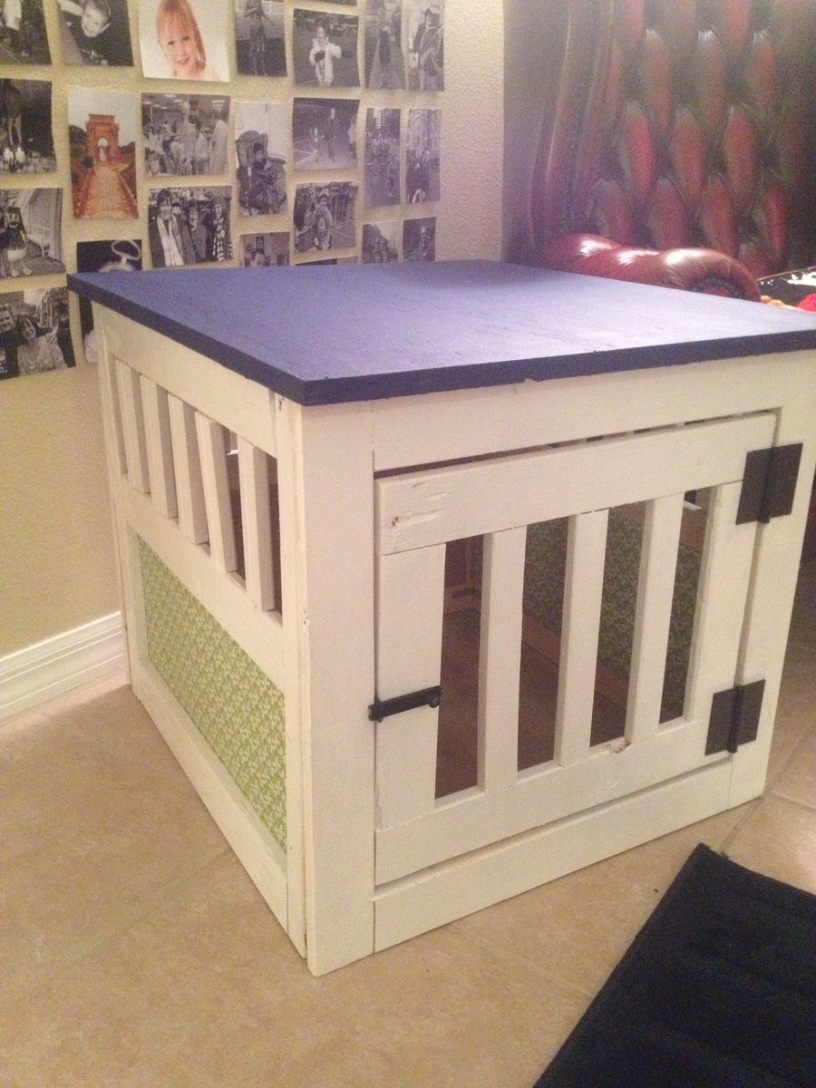 Ana White Dog Kennel End Table Small Diy Projects