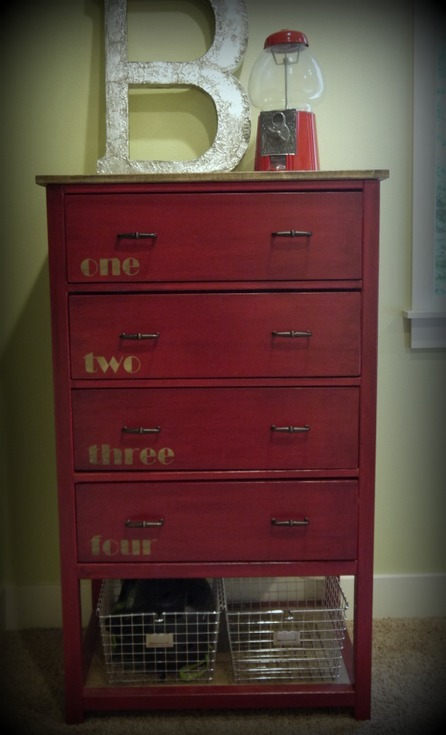 Ana White Red Hen Home S Narrow Cabin Dresser Diy Projects