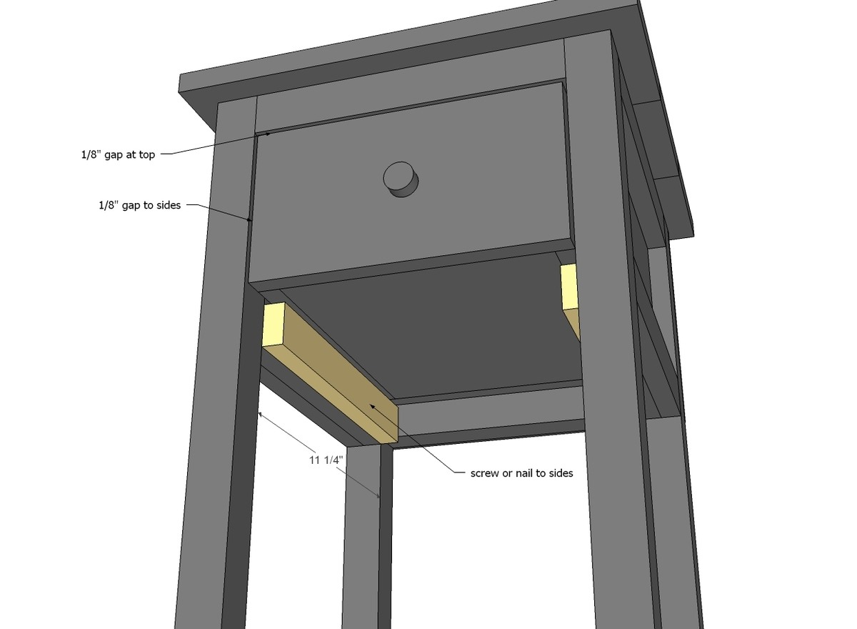 Bedside table design plans - Bedside Table Design Plans 14