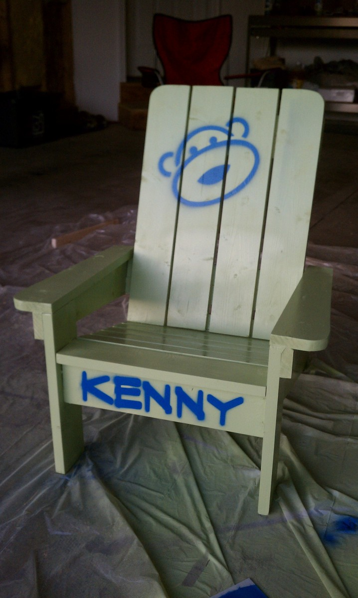 Kids Adirondack Chair!