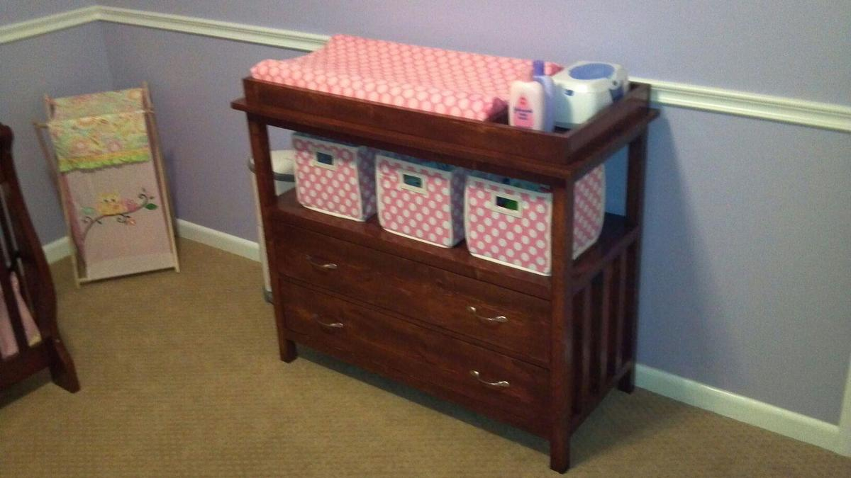 Ana White Small Dresser Changing Table Diy Projects