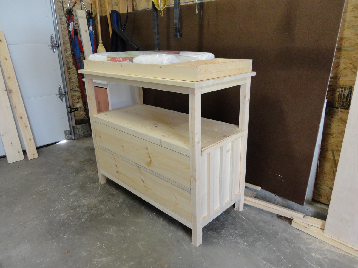 Ana White | Small Dresser/Changing Table   DIY Projects