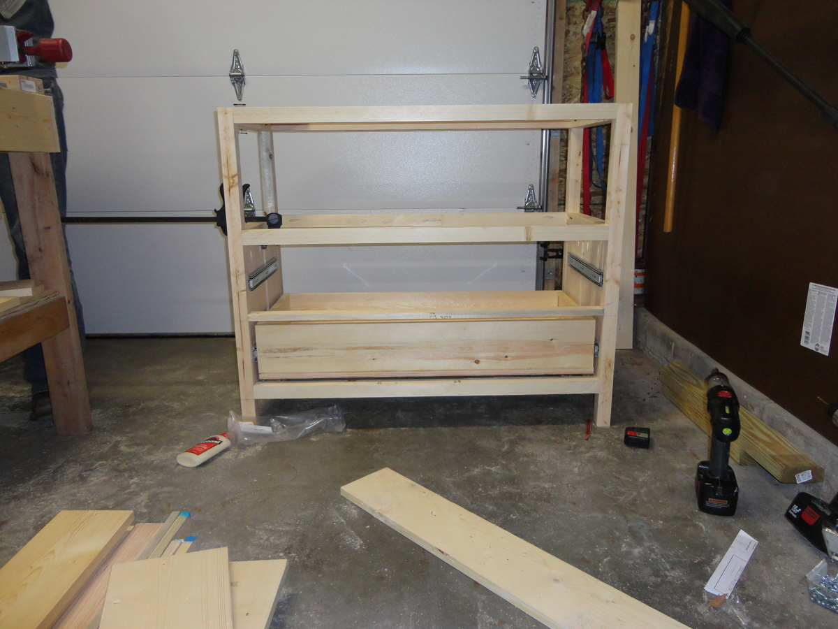Small Dresser/Changing Table - DIY Projects