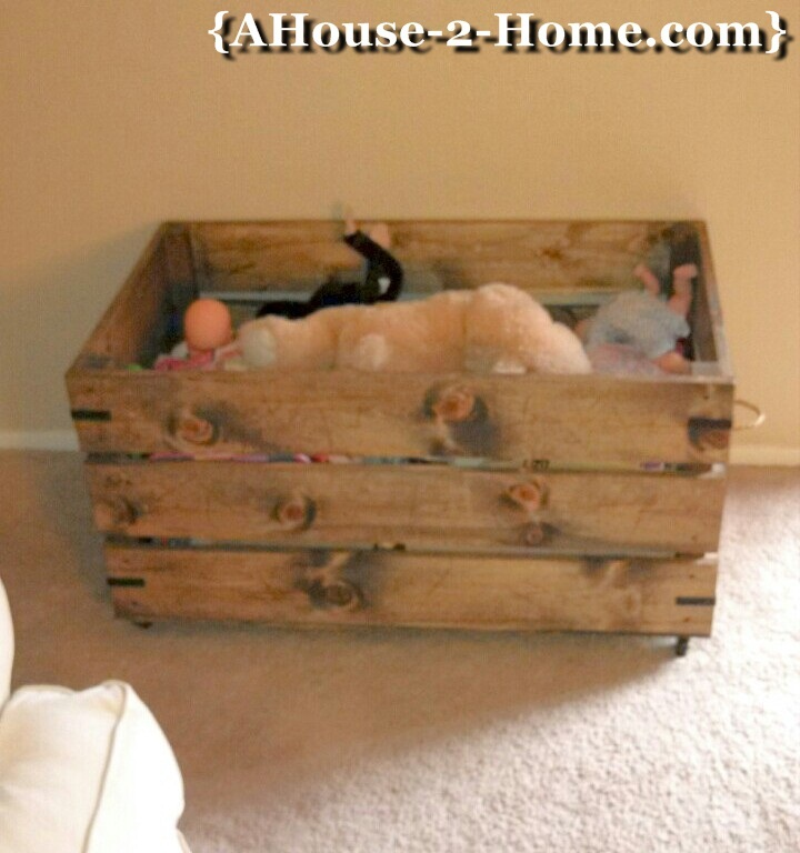 Ana White | Wood Toy Box - DIY Projects