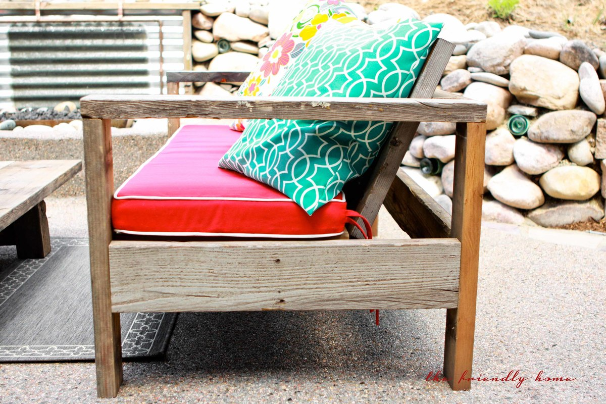 Exceptionnel Outdoor Sofa From Reclaimed Wood