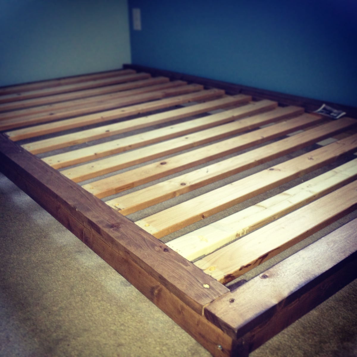 Ana White Platform Bed For My Toddler Diy Projects